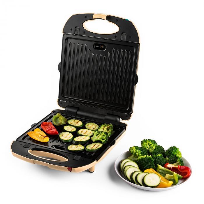 Trinity 3in1 Sandwich Maker XXL 1300 W creme