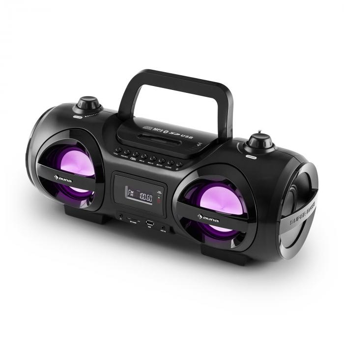 Soundblaster Stereo Boombox Bluetooth 3.0 CD/MP3/USB max. 50W