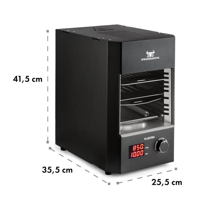 Steakreaktor 2.0 Grill da Interni 850 °C 1600W infrarossi Made in Germany