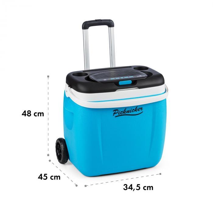 Picknicker Trolley Music Cooler 36l Trolley Borsa Frigo Altoparlante BT blu