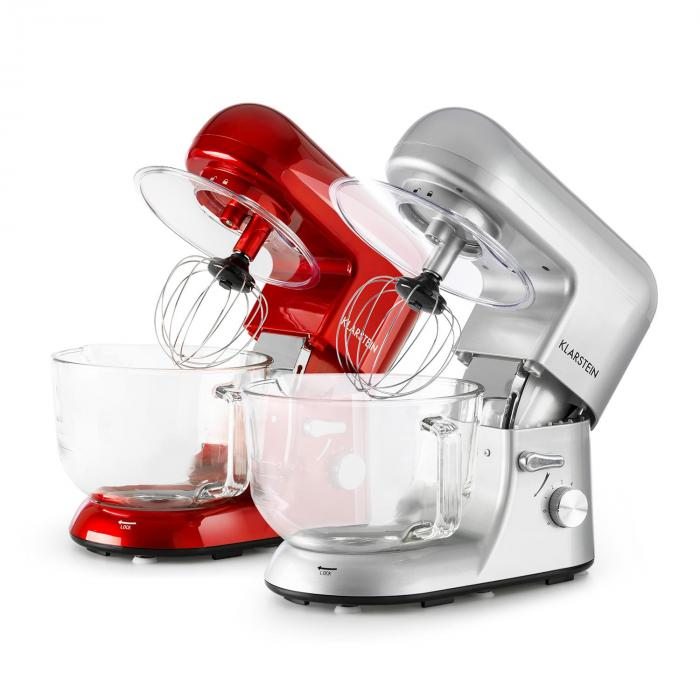 Bella Argentea 2G Robot Da Cucina 1200W 2,5/5 Brocca In Vetro Argento