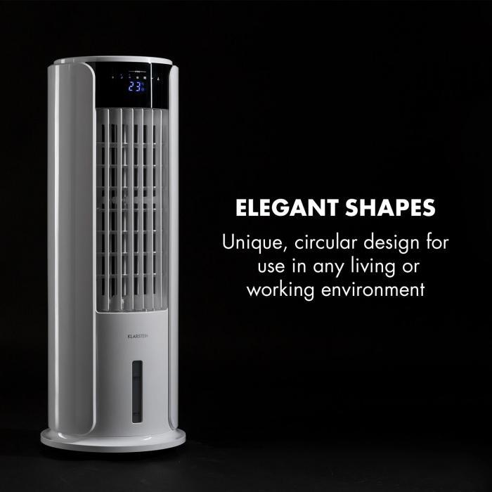 Skyscraper Horizon Raffreddatore Ventilatore 60W 486m³/h 3,5L bianco