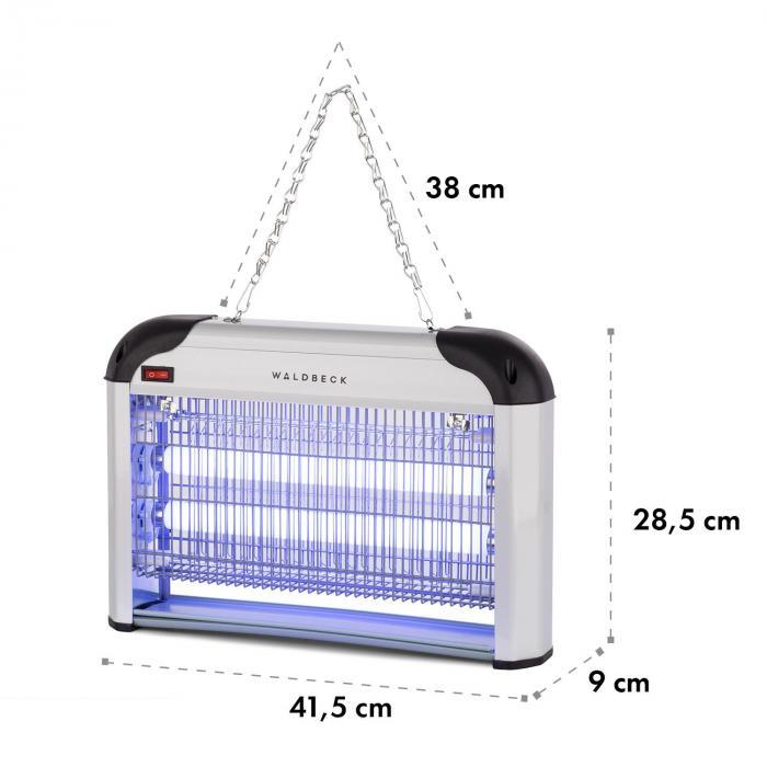 Mosquito Ex 4000 Insektenvernichter, 30 W, UV-Licht, 100 m² Wirkung