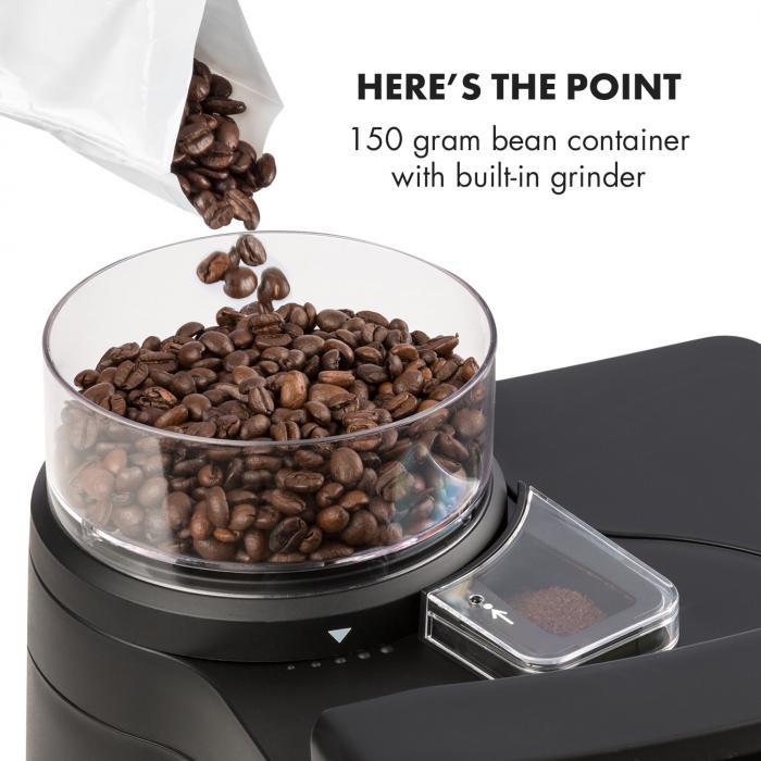 Aromatica II -kahvikone, jauhatus, 1,25 l, hopea