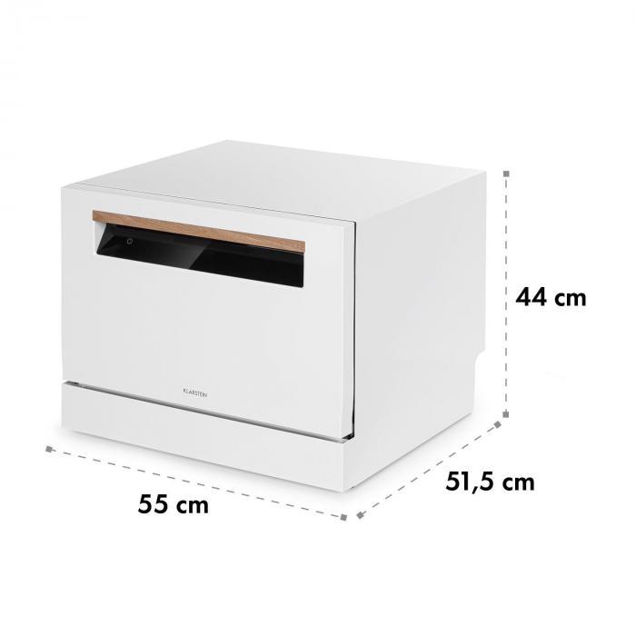 Lagoona -astianpesukone energialuokka A+ 1380 W 6,5 l 6 kattausta valkoinen