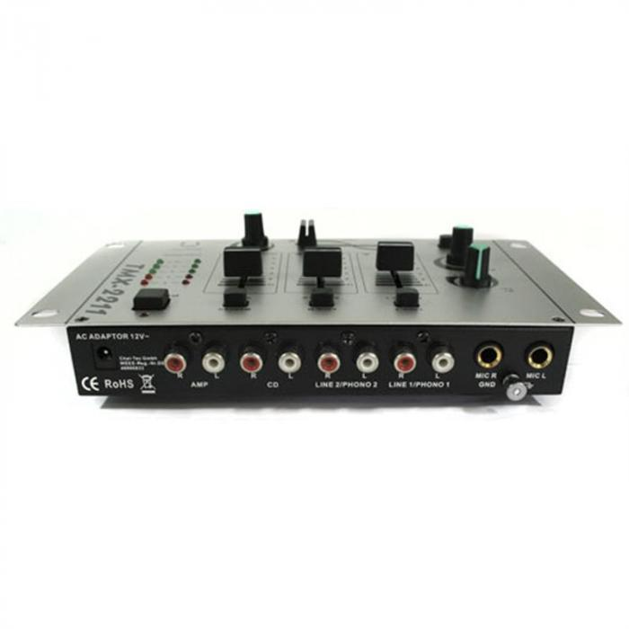 Bouncer Equipo DJ amplificador altavoces mesa de mezclas