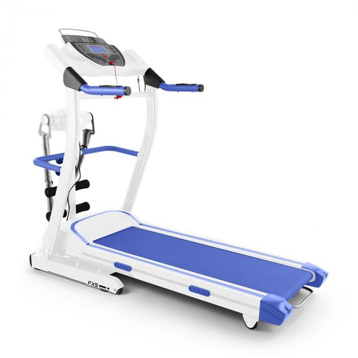 Pacemaker FX5 Laufband 1,5 PS 12 km/h Pulsmesser Massagegerät Sit-up