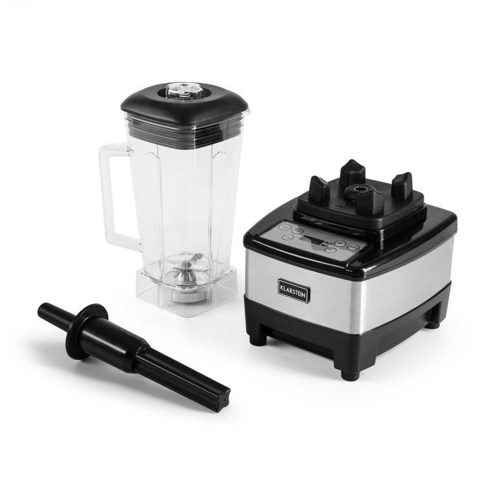 Herakles 4G Power-Mixer 1500W 2PS 35.000U/min BPA-frei 2l silber