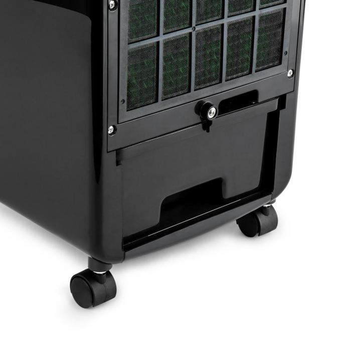 Caribbean Blue Luchtkoeler Luchtverfrisser Ventilator 70 W zwart/wit