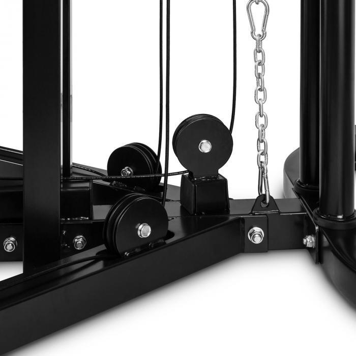 Distendor Kabelzug-Trainer Kabelzugstation Aufnahme Schwarz