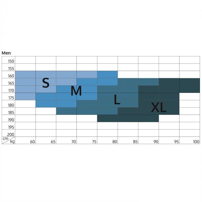Beforce kompressiohousut kompressiotrikoot miehille koko S