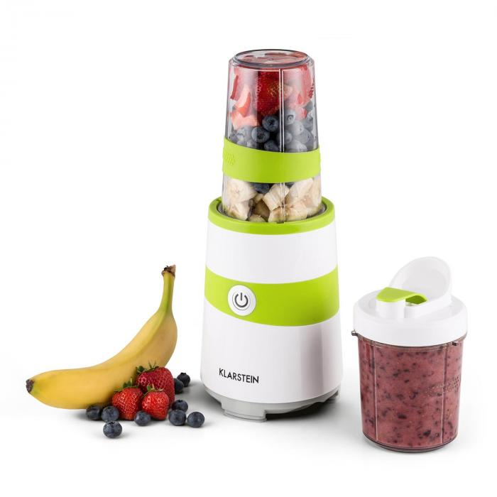 Vitalic Mixer Smoothie Maker 1000W 2 Lame Bianche