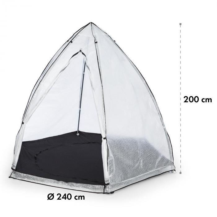 Greenshelter M Wintering Tent 240x200cm Steel Pipe Ø25mm PVC