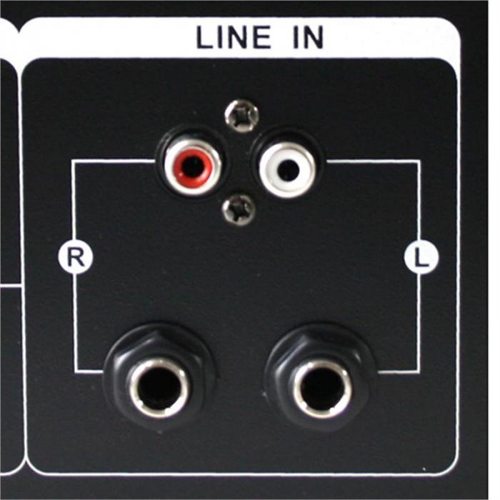 """PA-järjestelmä """"Sidney"""" setti 2 x vahvistin 4 x kaiutin lisätarvikkeita 3"""