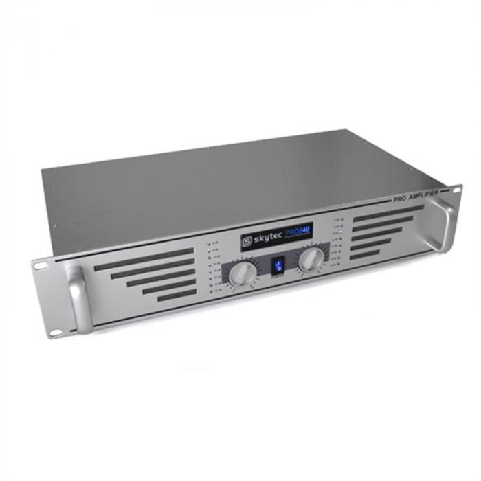 DJ- PA-setti 1000W kaiuttimet, vahvistin, mikseri, mikrofoni