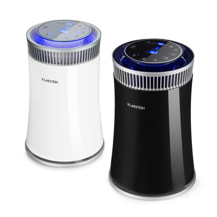 Arosa Luftreiniger Ionisator UV-Lampe Automatik-/Schlafmodus schwarz