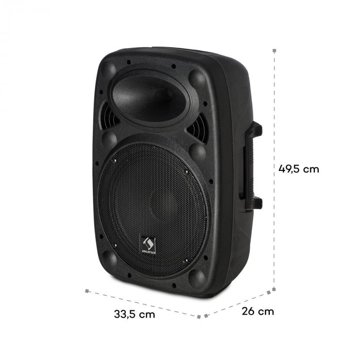streetstar 10 mobile pa anlage 10 25 5 cm subwoofer. Black Bedroom Furniture Sets. Home Design Ideas