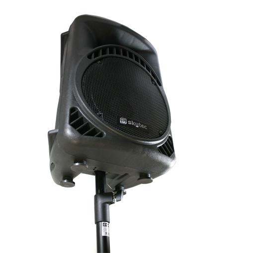 "Equipo DJ PA ""Bassbergen USB"" 4 altavoces 1 amplificador"