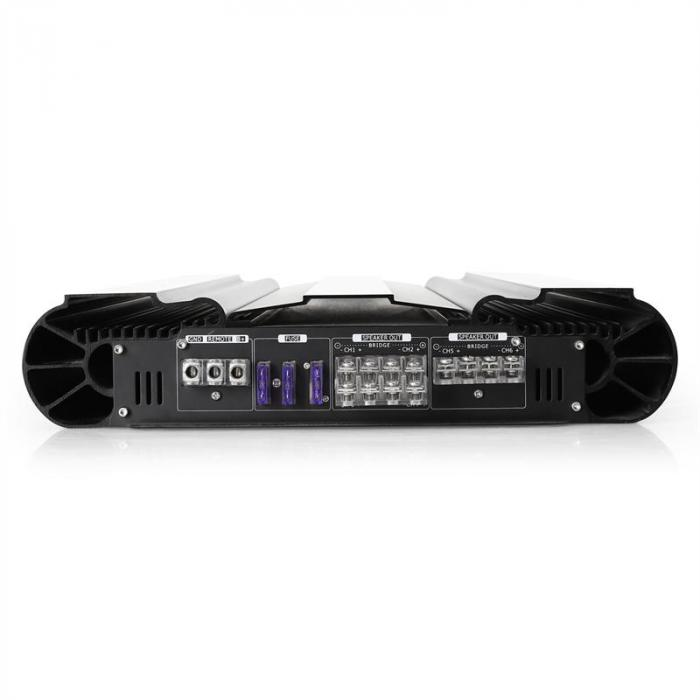 10,000W PMPO Watt 6-Channel Bridgeable Car Hifi Amplifier