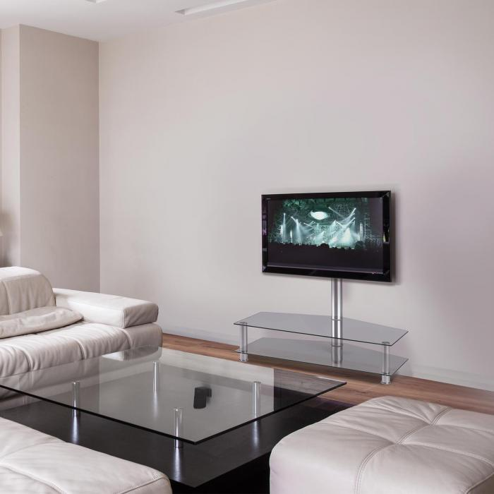 TV Taso Jalusta Lasi Alumiini