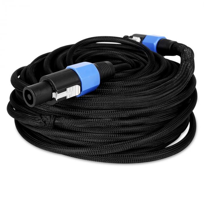 25 Meter Speakon PA Cable - Male to Male, Kink Protected