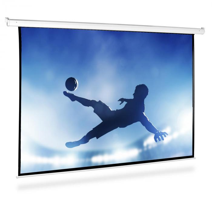 Beamer Leinwand 240x240cm Heimkino Projektor HDTV 1:1