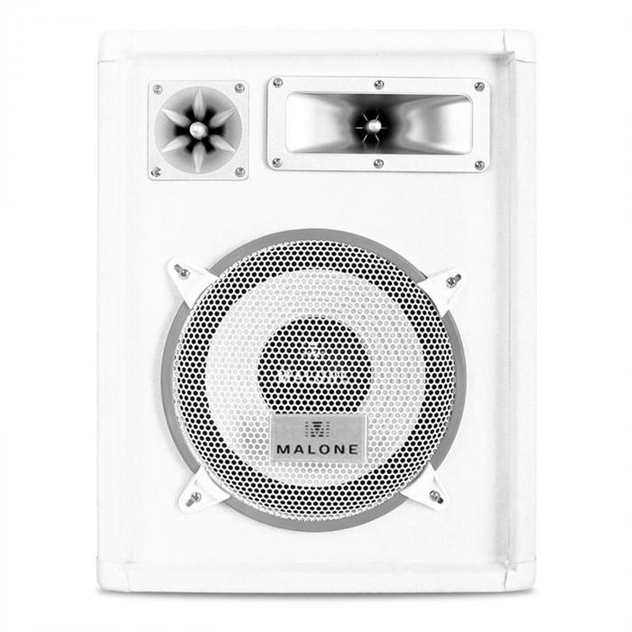 "PW-1022 3-Way DJ PA Speaker 10"" 400W - White"