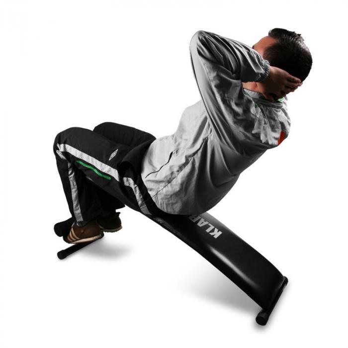 Panca fitness Klarfit Home Trainer <160kg