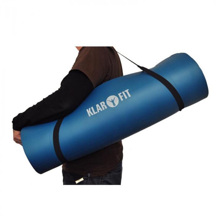 tappetino da yoga 190x80 cm blu