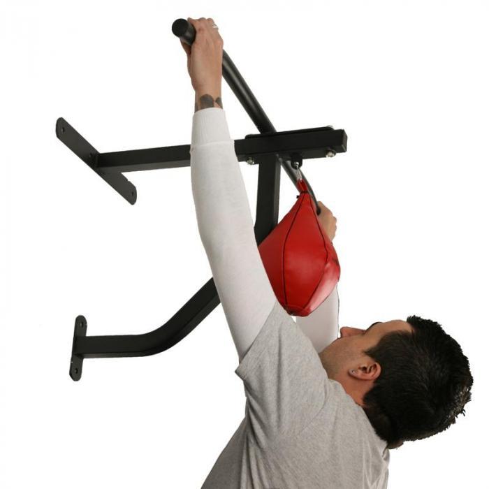 barra per trazioni con sacco da boxe <350kg