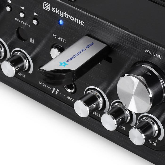 103.134 Hifi-vahvistin MP3 USB SD