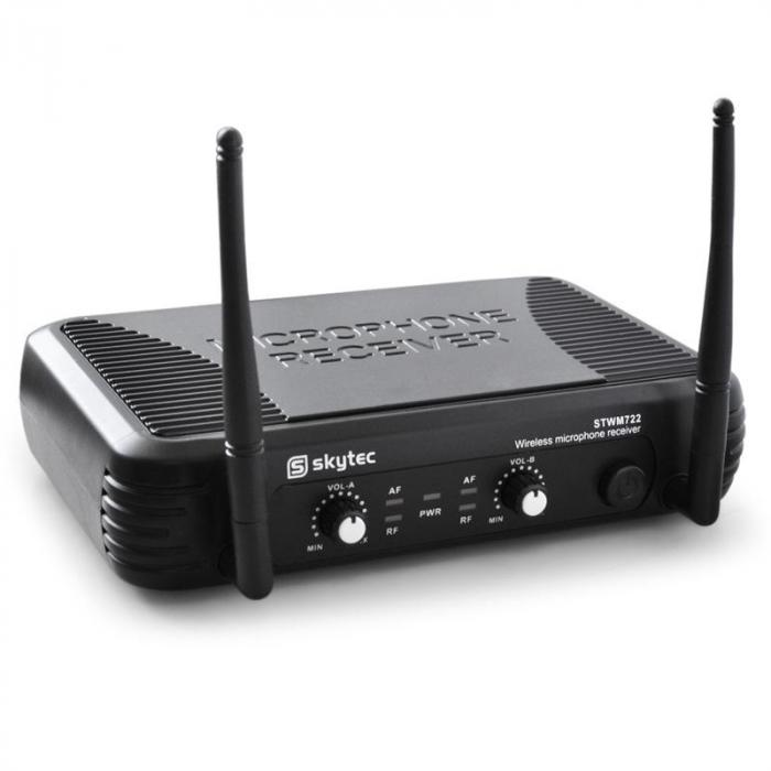 STWM722 langaton UHF-mikrofonisetti, 2 x mikrofoni
