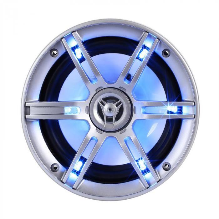 Coppia altoparlanti auto CS-LED65 da 16,5cm 2x400W max