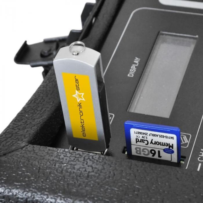 PA100 Sistema audio portatile USB-MP3 Mixer 4 canali