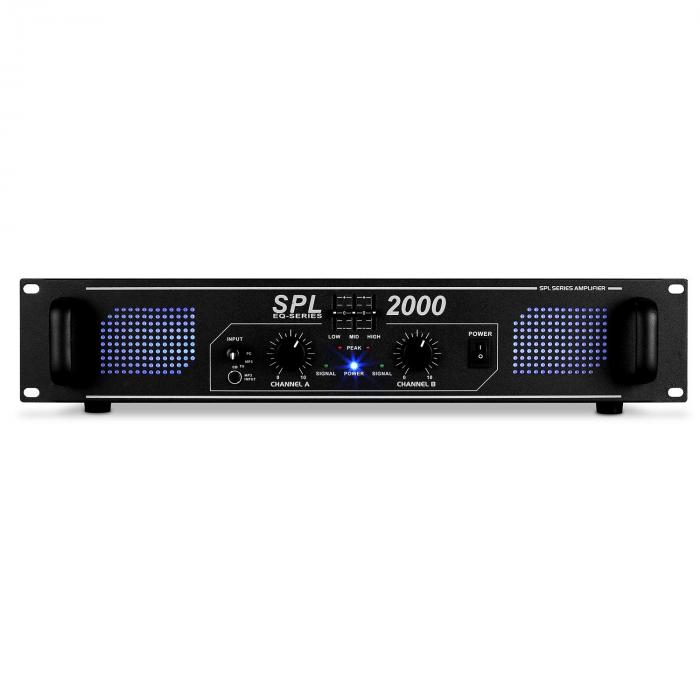 SPL-2000-EQ Amplificatore hi fi PA Rack