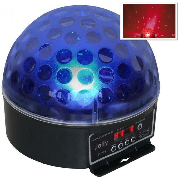 4x Jelly Beamz DJ Magic Ball LED RGB DMX light effect