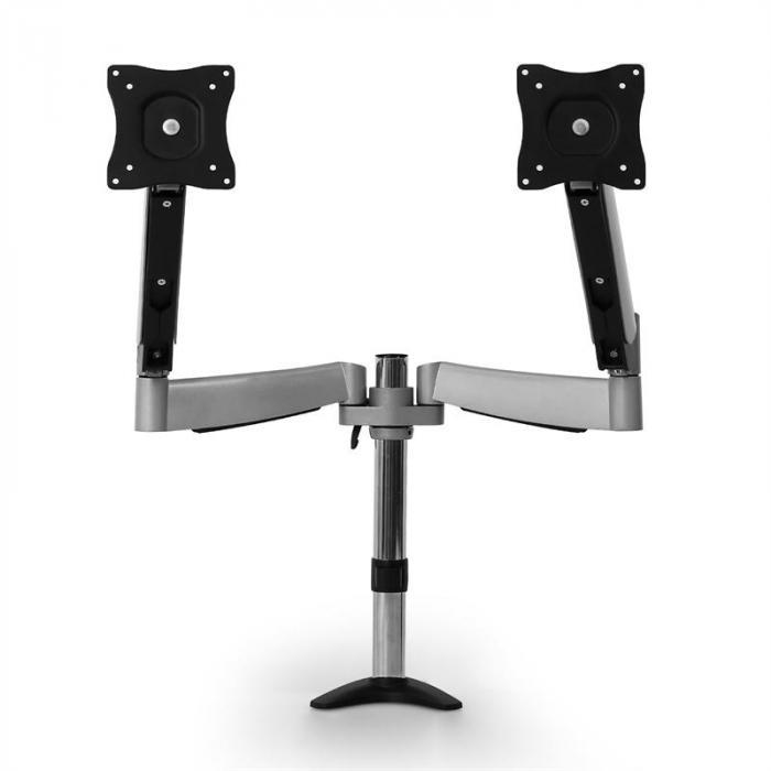 ET01-C04 Tafelsteun voor 2 Monitors <9kg x 2