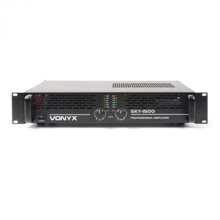 Amplificateur PA Vonyx/Skytec 1500MKII 1500W bridgeable