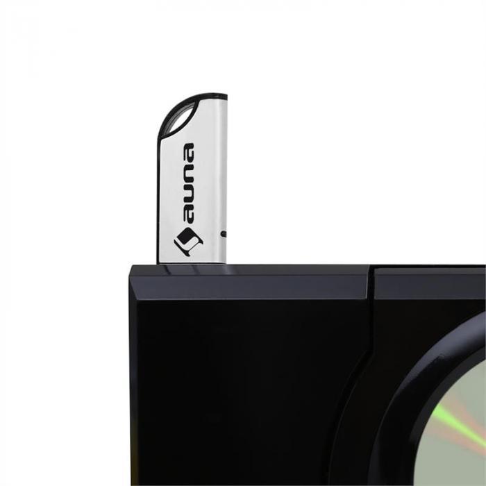 MC-120 stereo MP3-CD-spelare USB väggmontering