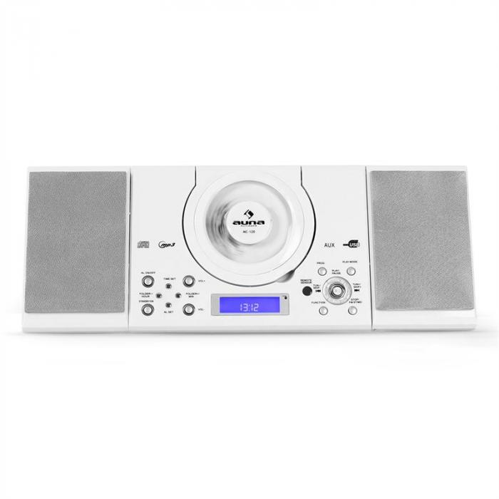 MC-120 Stereo järjestelmä MP3-CD-soitin USB valkoinen
