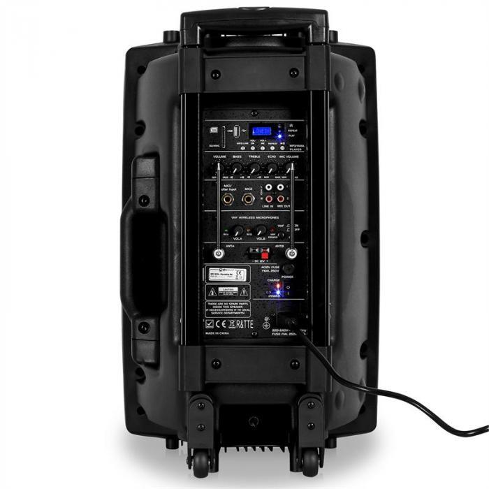 QR12PA diffusore portatile attivo 200W