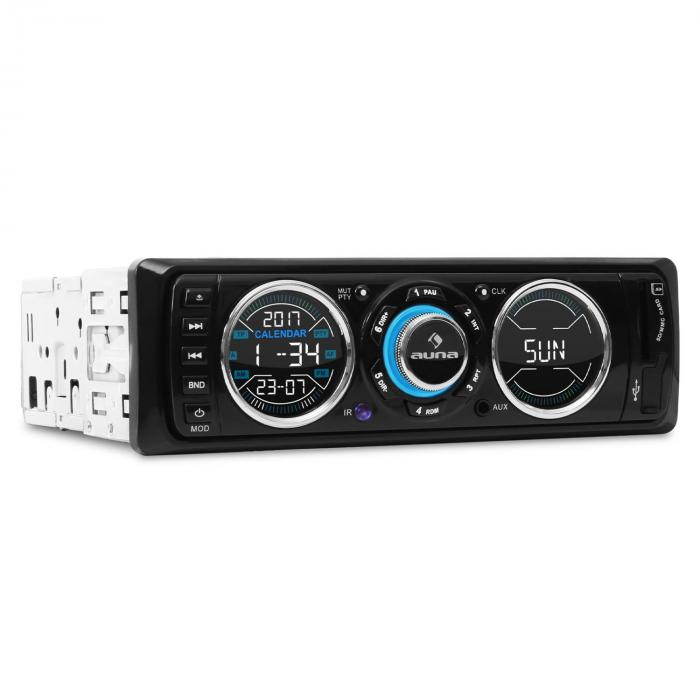 MD-180 autoradio USB SD MP3 RDS AUX