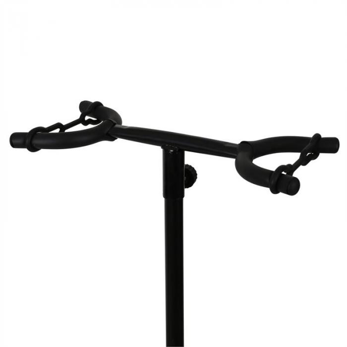 Duett 2-Way Guitar Stand for 2 Guitars - Powder Coated