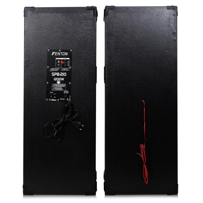 "SPB-210Set Casse attive PA 2x 25cm (10"")"