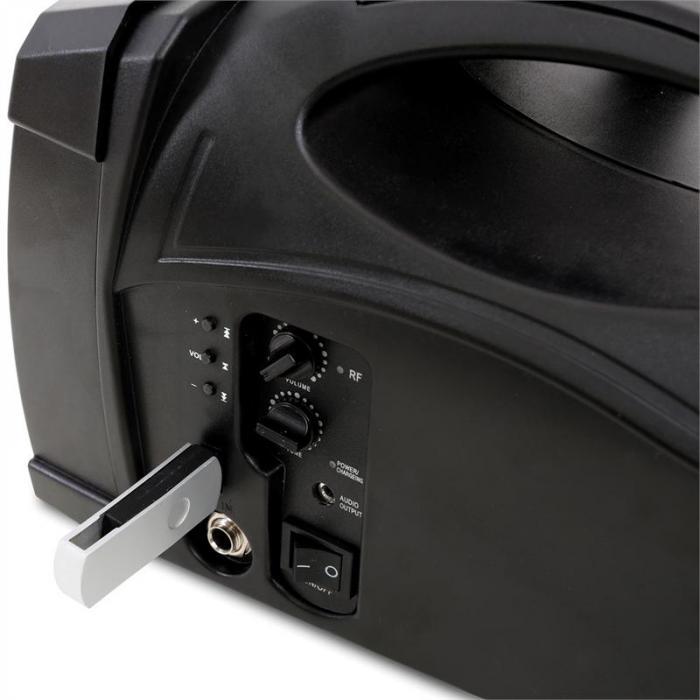 "ST-010 Megaphone 5"" Portable Loud Speaker with USB & Microphone"