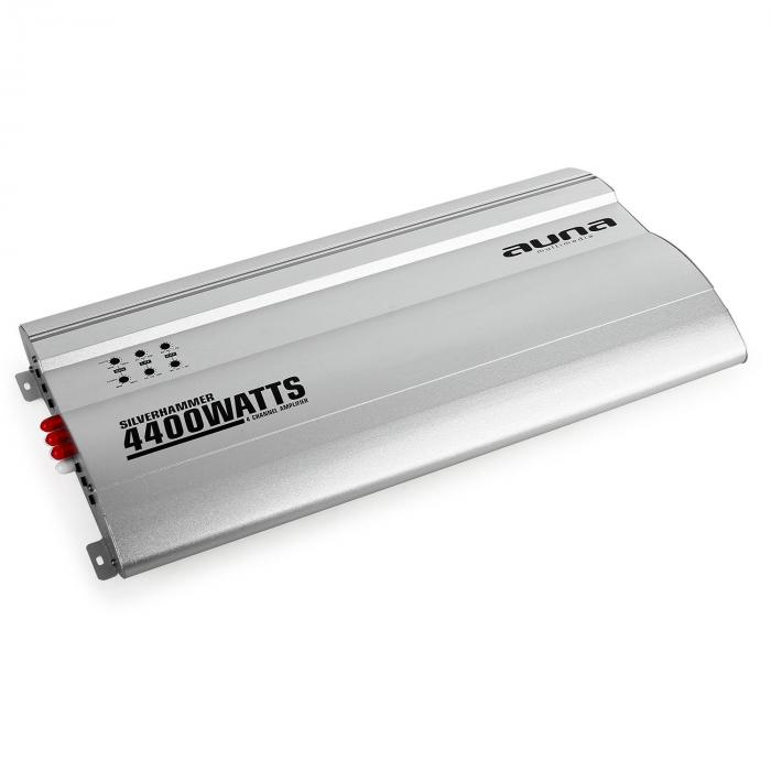 Silverhammer 4-kanavainen autovahvistin 4400 W
