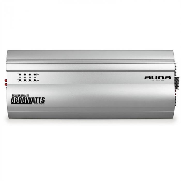 Silverhammer 5-kanavainen autovahvistin 6600 W