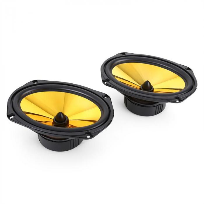 "2.0 Car Hifi Set ""Golden Race V3"" - 6x95"" Luidspreker & Versterker"