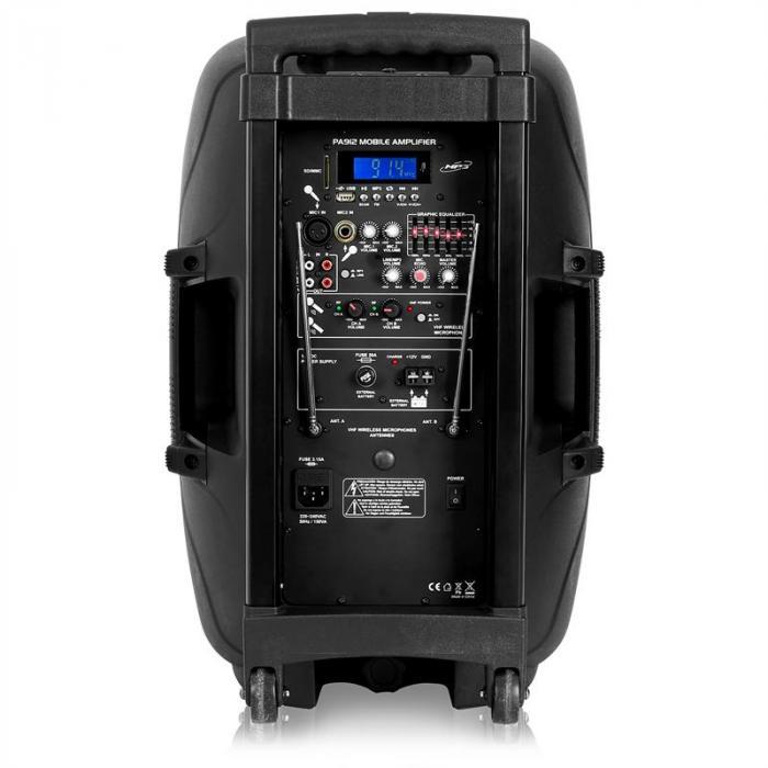SPJ-PA12 Cassa Attiva USB SD 250W RMS