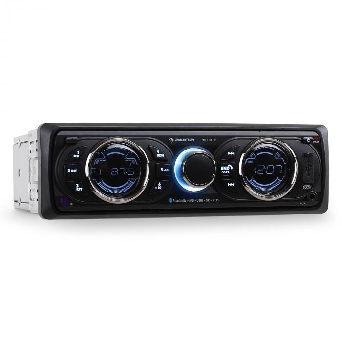 MD-160 BT autoradio MP3USB SD Bluetooth 4 x 15W RMS